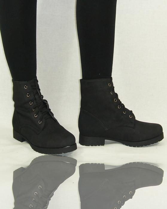boots schn rboots schn rschuhe stiefeletten stiefel schn rer damen schuhe winter ebay. Black Bedroom Furniture Sets. Home Design Ideas