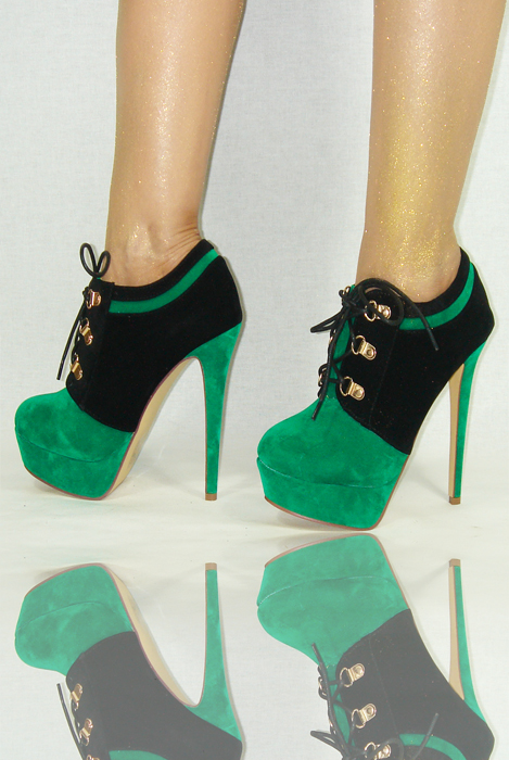 damenschuhe schwarz gr n 35 40 damen high heels pumps. Black Bedroom Furniture Sets. Home Design Ideas