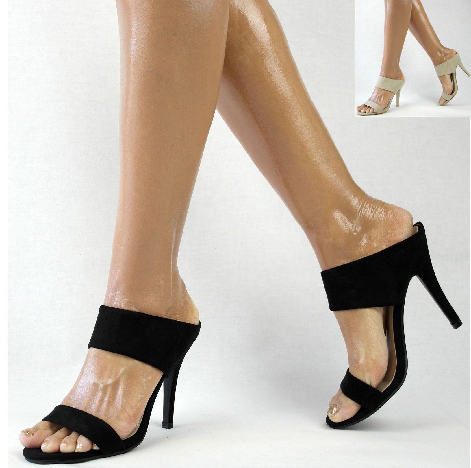damenschuhe sandalen 36 41 sandaletten high heels stiletto pantoletten. Black Bedroom Furniture Sets. Home Design Ideas